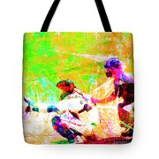 The Boys Of Summer 5d28228 The Catcher Square Tote Bag