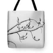 The Branch Of Art Tote Bag