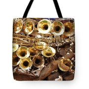 The Brass Section Tote Bag