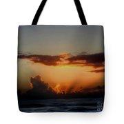 The Breaking Morn Tote Bag