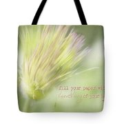 The Breathings Of Your Heart - Inspirational Art By Jordan Blackstone Tote Bag
