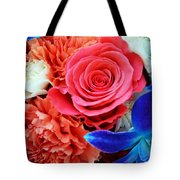 The Brides Flowers Tote Bag