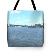 The Bridge And The River Tote Bag