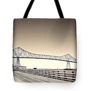 The Bridge At Astoria Tote Bag