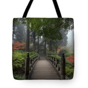 The Bridge In Japanese Garden Tote Bag