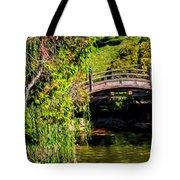 The Bridge In The Japanese Garden Tote Bag