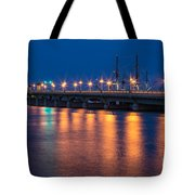 The Bridge Of Lions St. Augustine Florida Tote Bag