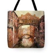 The Bridge Of Sighs Venice Italy Tote Bag