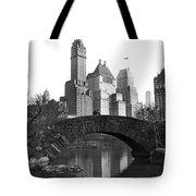 The Bridge Over Duck Pond  Tote Bag