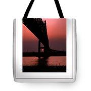 The Bridge Poster Tote Bag