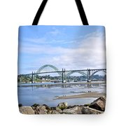 The Bridge To Old Town Tote Bag