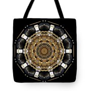 The Brightest Star Of Love Pop Art Tote Bag