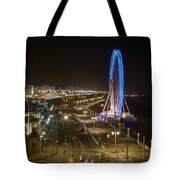 The Brighton Wheel At Night Tote Bag