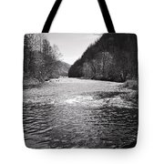The Broad River 1 Bw Tote Bag