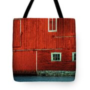 The Broad Side Of A Barn Tote Bag by Lois Bryan