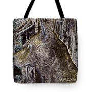 The Bronze Wolf Tote Bag