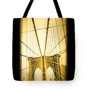 The Brooklyn Bridge New York Tote Bag