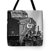 The Brute Monochrome Tote Bag