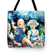 The Bubble Gang Tote Bag