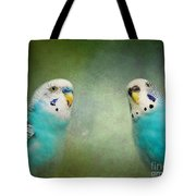 The Budgie Collection - Budgie Pair Tote Bag