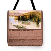 The Buffalo Heard  Tote Bag