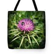 The Bug And The Thistle Tote Bag