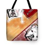 The Bulldogs Tote Bag