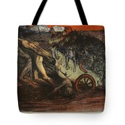 The Burden Of Taxation, Illustration Tote Bag