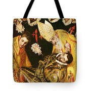 The Burial Of Count Orgaz Tote Bag