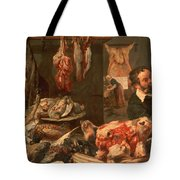 The Butcher's Shop Tote Bag