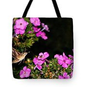 The Butterfly Garden At Night Tote Bag