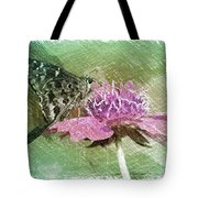 The Butterfly Visitor Tote Bag