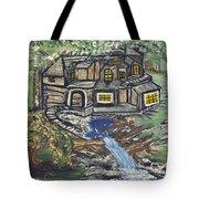 The Cabin Tote Bag