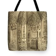 The Cabinet, Engraved By T. Morris Tote Bag
