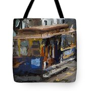 The Cable Car Tote Bag