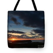 The Calf From A Hilltop In Twilight I Tote Bag