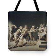 The Calumny Of Apelles Tote Bag