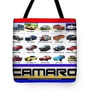 The Camaro Poster Tote Bag