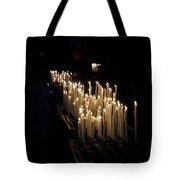 The Candles. Duomo. Milan Tote Bag