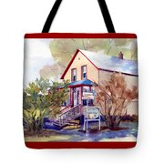 The Candy Shoppe Tote Bag by Kris Parins