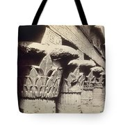 The Capitals Of The Portico Of The Temple Of Khnum In Esna Tote Bag