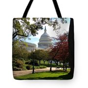 The Capitol Building  Tote Bag