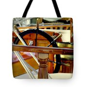 The Captain's Wheel Tote Bag