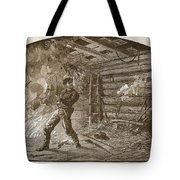 The Capture Of Booth, The Slayer Tote Bag