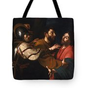 The Capture Of Christ Tote Bag