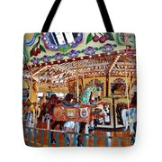 The Carousel Ride Tote Bag