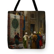 The Carpet Merchant Tote Bag