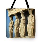 The Caryatid Porch Tote Bag