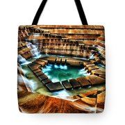 The Cascading Falls - Fort Worth Water Garden  Tote Bag