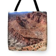 The Castle In Capitol Reef Np Tote Bag